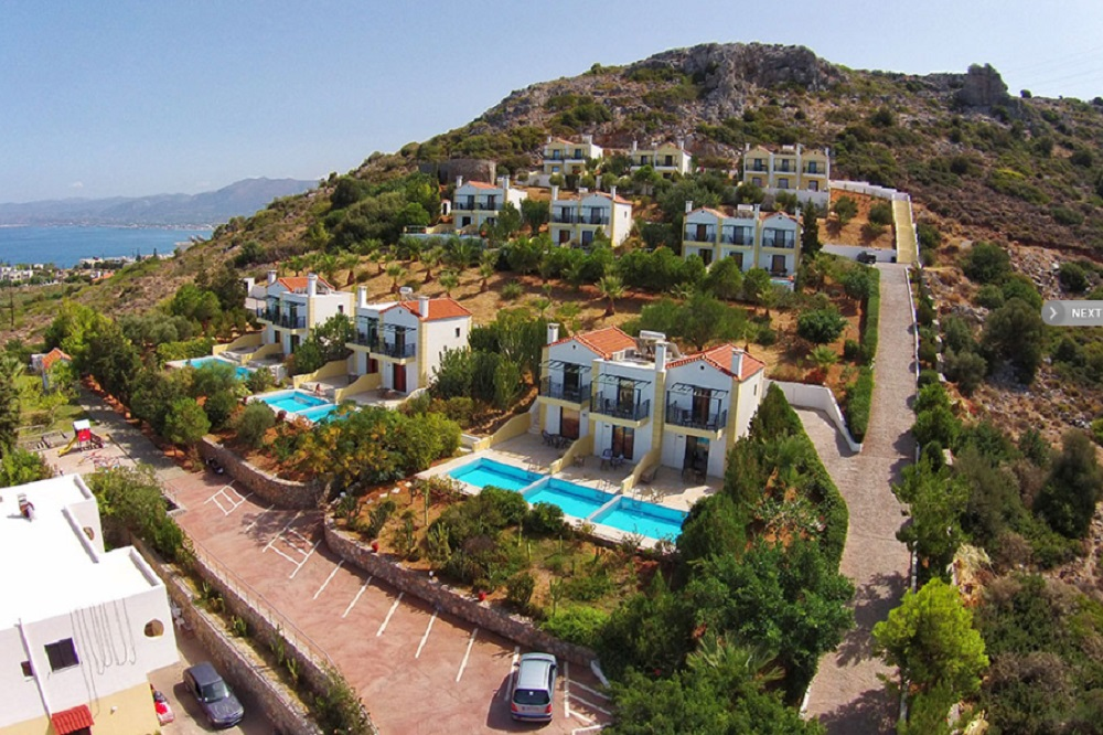 Crete Dropanos Villa – Pool Shared