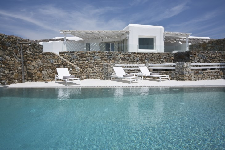 Mykonos Alfa luxury Villa Sea View