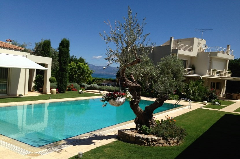 Evia Luxury Villa on the Beach 200 m2 for 9 persons