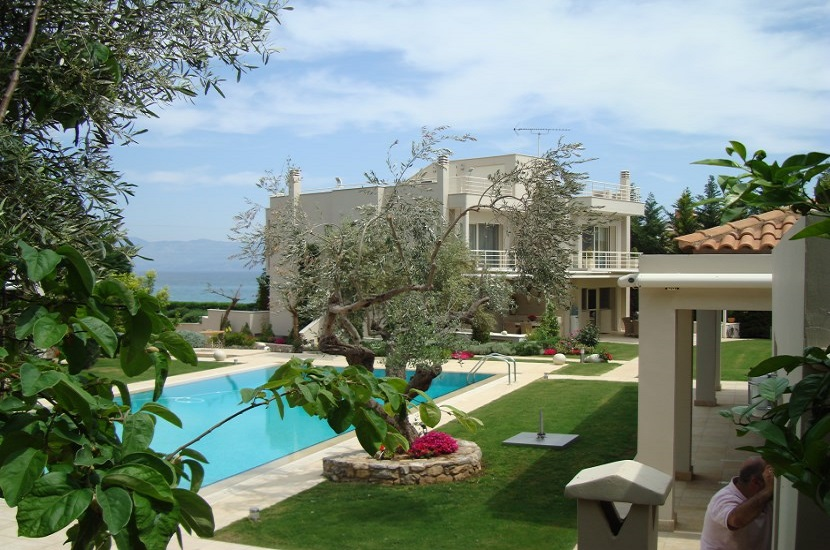 Evia Luxury Villa on the Beach 180 m2 for 7 persons